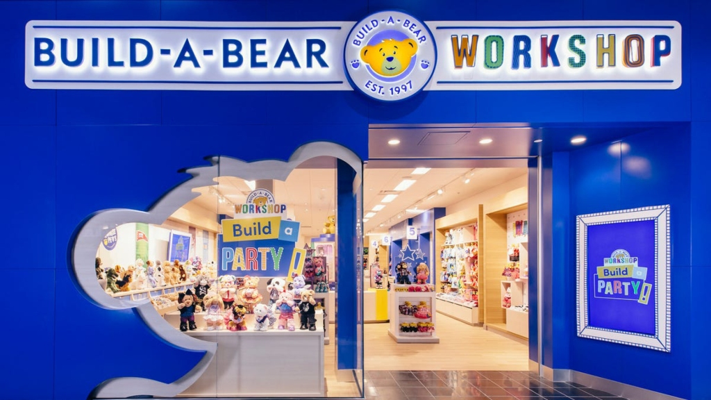 Build-A-Bear Workshop storefront