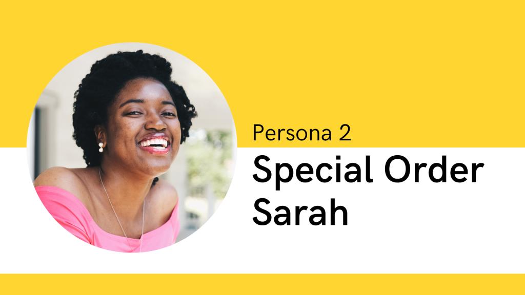 Persona 2 Special Order Sarah
